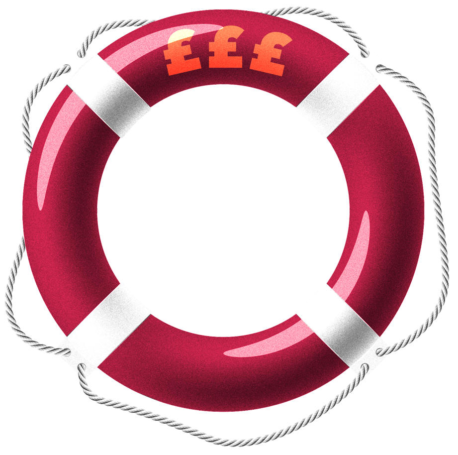 Recession buoyancy ring