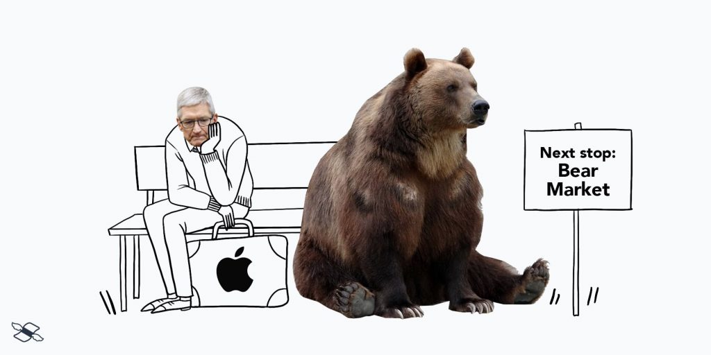 Apple's in a bear market