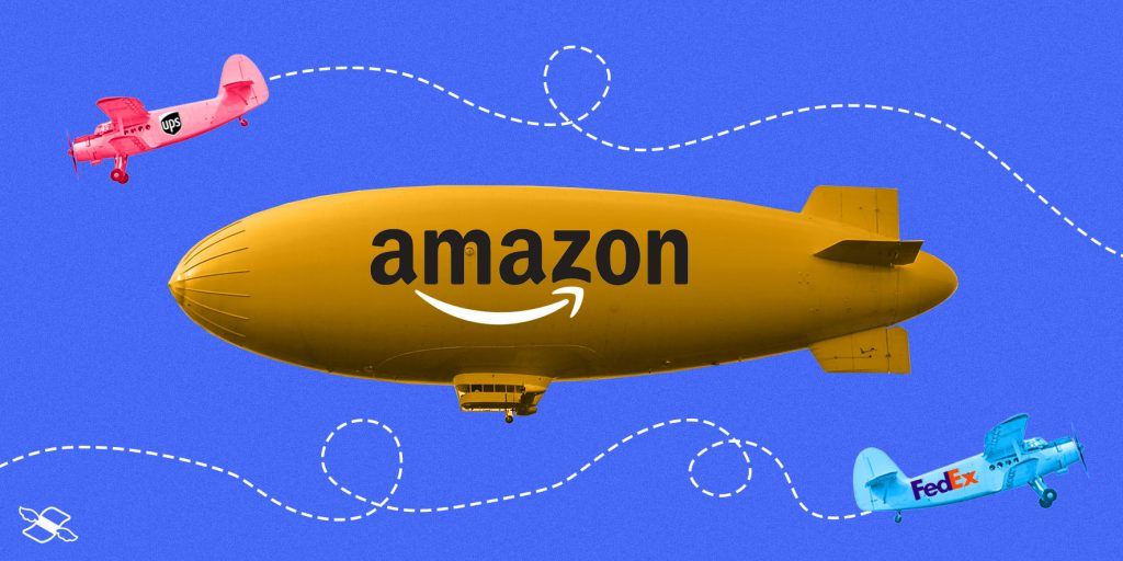 Amazon Air expansion threatens UPS, FedEx