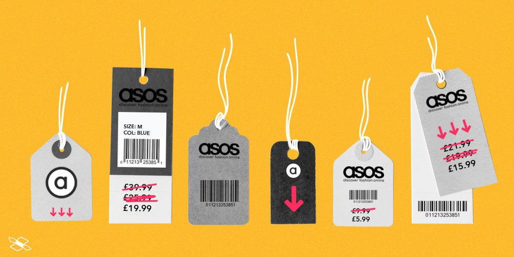 ASOS falls 40% on profit warning