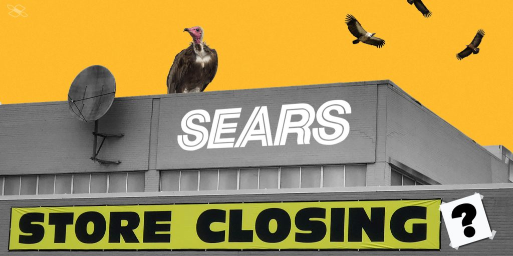 Sears flirted with bankruptcy