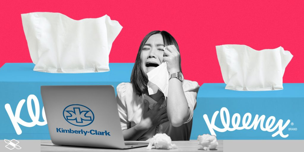 P&G's strength was met by Kimberly-Clark's weakness