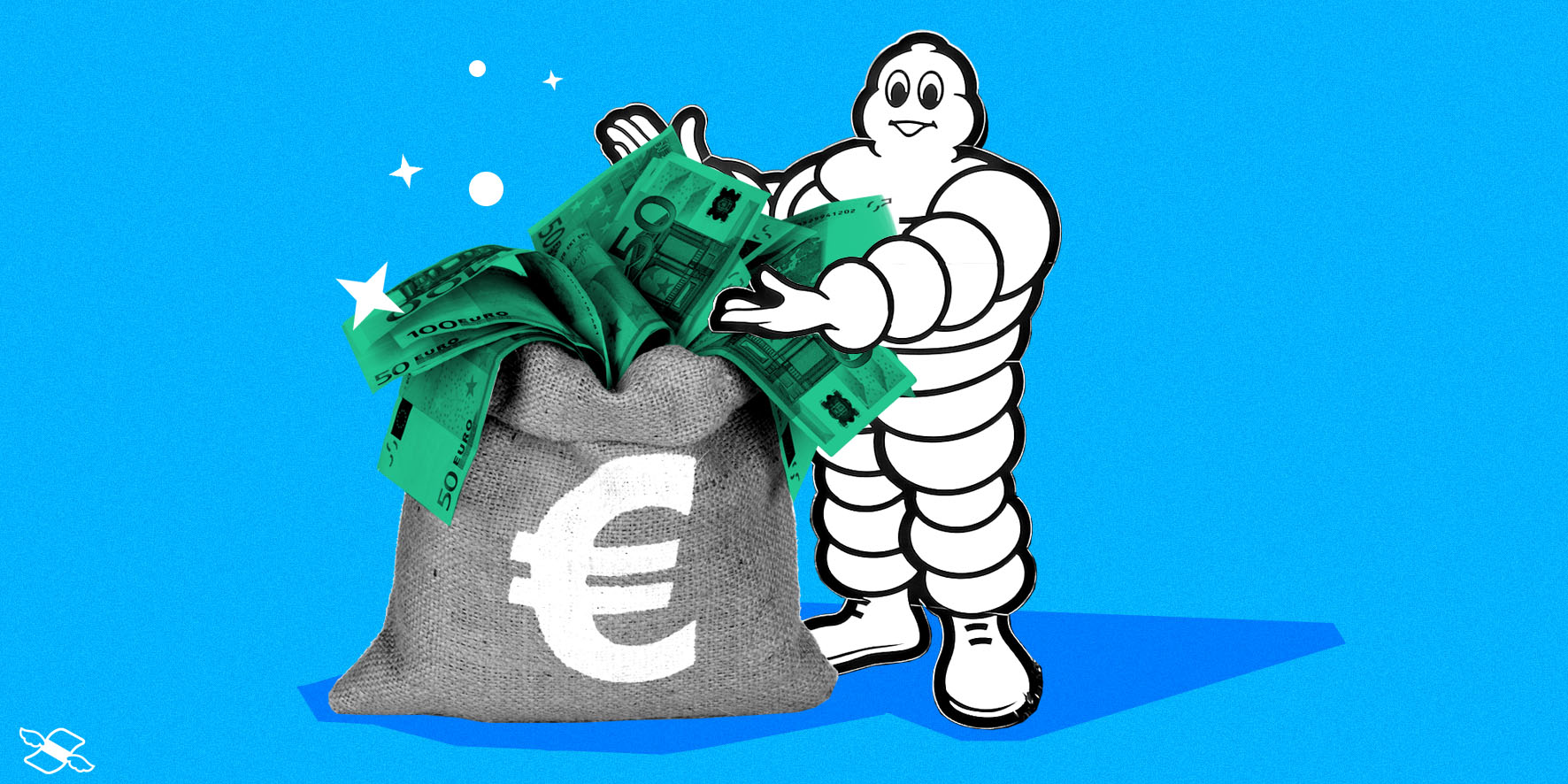 Michelin's stock jumped 13%