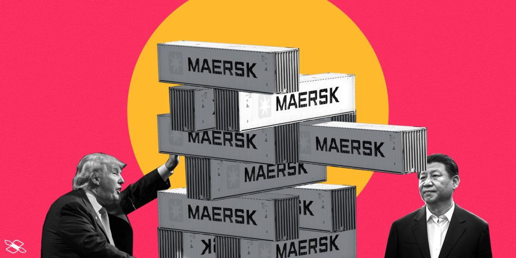Maersk is worried about trade war