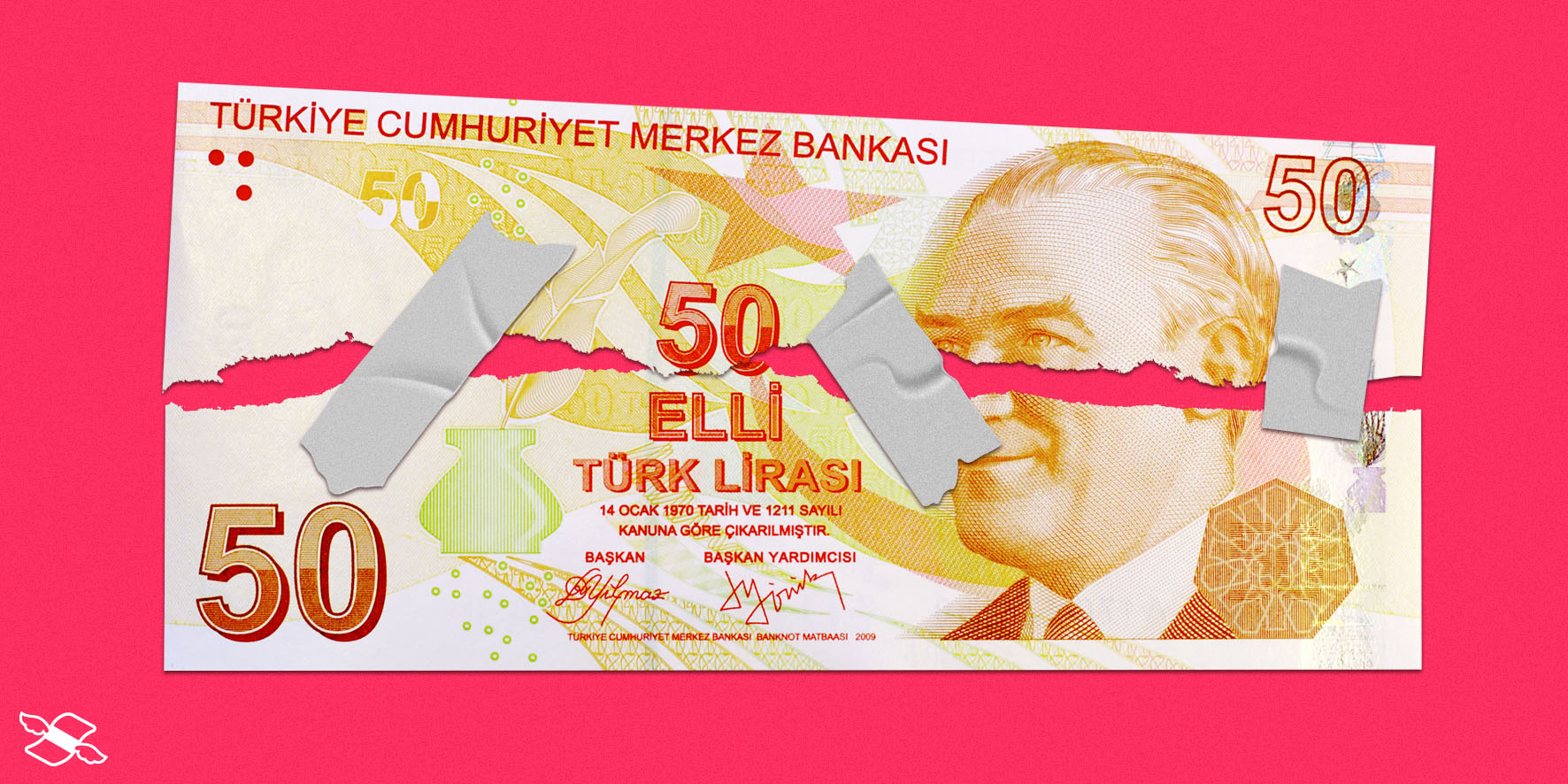 Turkish lira falls