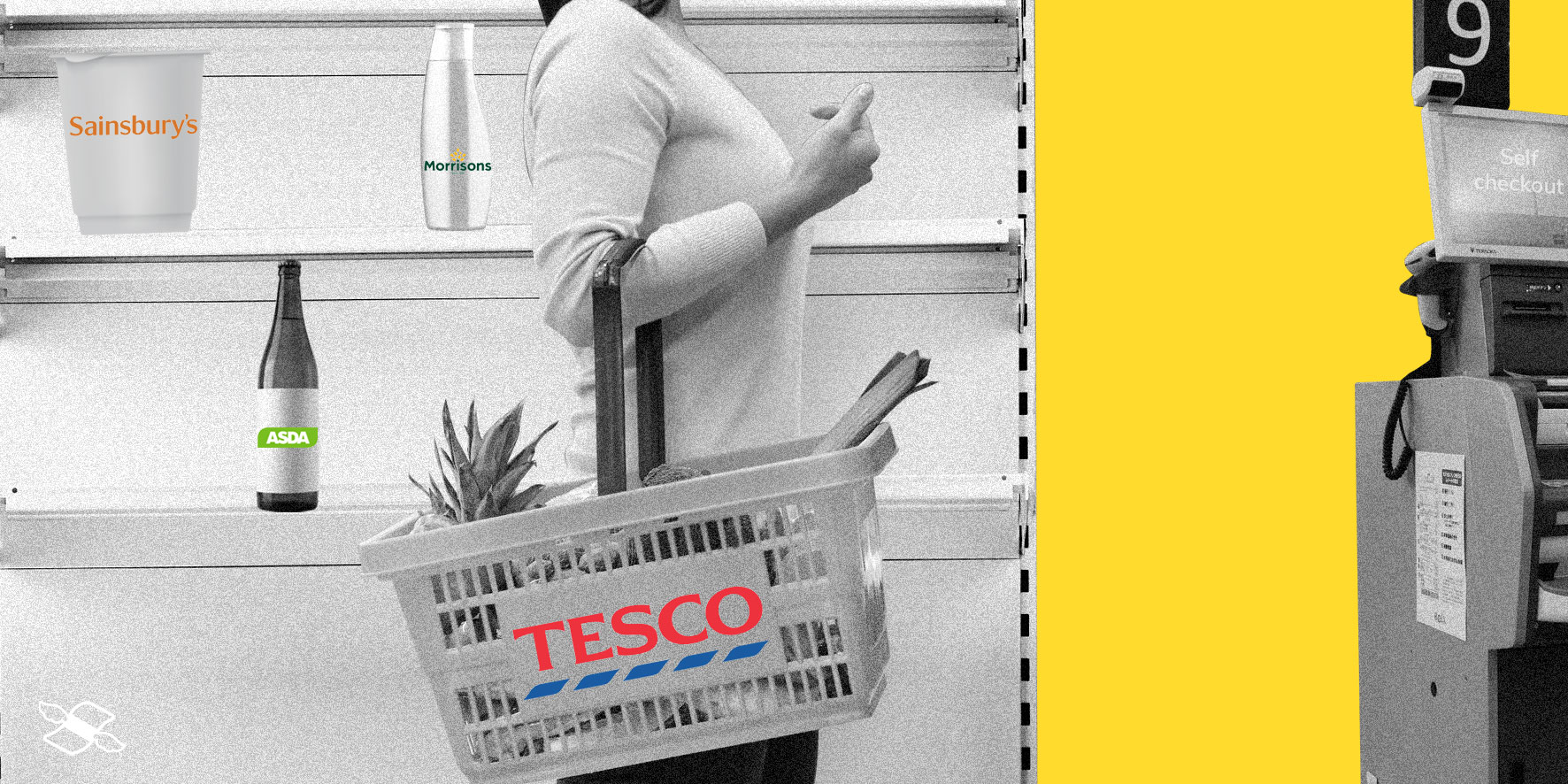 Tesco earnings – lone basket