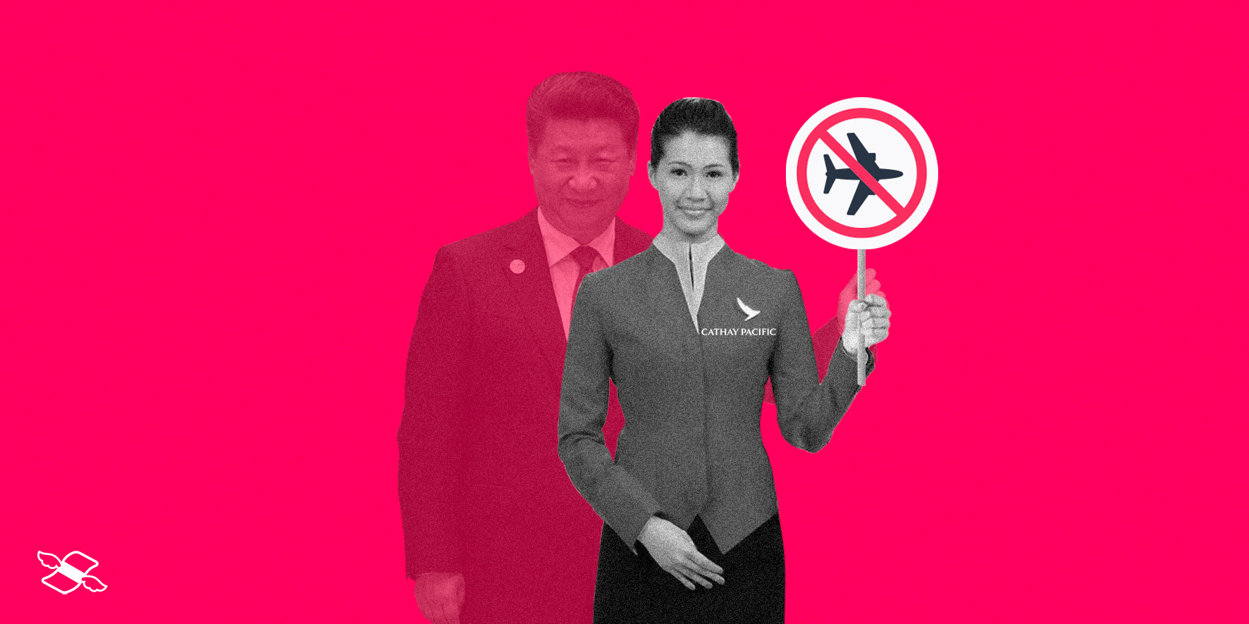 Cathay Pacific's wings clipped