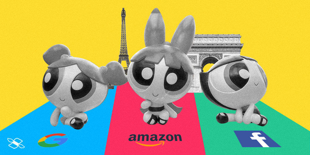 Amazon teams up with Big Tech against France