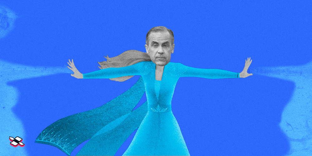 Mark Carney's meeting kept rates the same